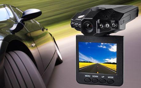 HD kamera do auta s poštovným zdarma