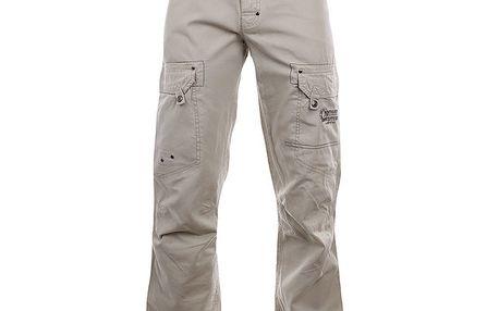 Pánské béžové bavlněné kalhoty Northland Professional
