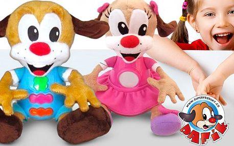 Mluvící plyšová hračka Pafík nebo Pafinka