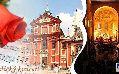 Krásný romantický koncert v bazilice sv. Jiří na Pražském hradě na Praze 1! To nejlepší z klasiky se sopránem - nezapomenutelný hudební zážitek v krásném prostředí nejstarší dochované sakrální stavby v Praze. Termíny září, říjen i listopad!