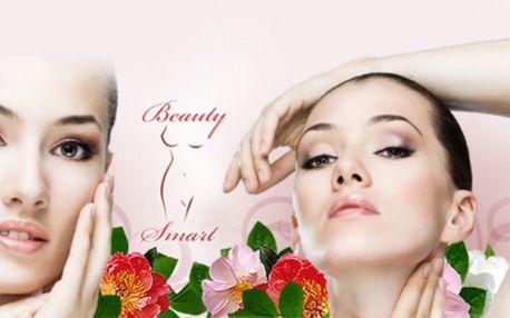 Hodinová KOSMETIKA 1+1 ZDARMA! Jen 370 Kč za luxusní OŠETŘENÍ PLETI v Salonu Beauty Smart přímo v centru Prahy! ÚPRAVA a BARVENÍ obočí nebo řas, ULTRAZVUKOVÉ čištění pleti, MASÁŽ obličeje, krku a dekoltu, PEELING a další!