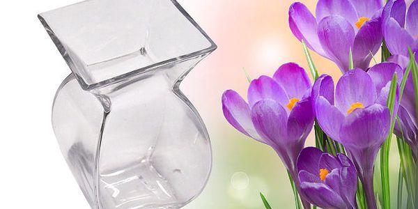 Originální skleněná váza