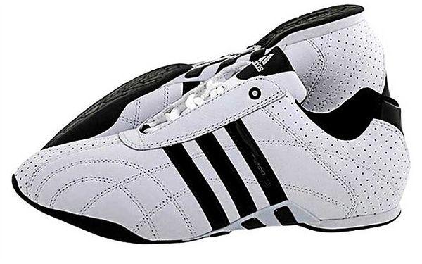 Pánské černo-bílé tenisky Adidas