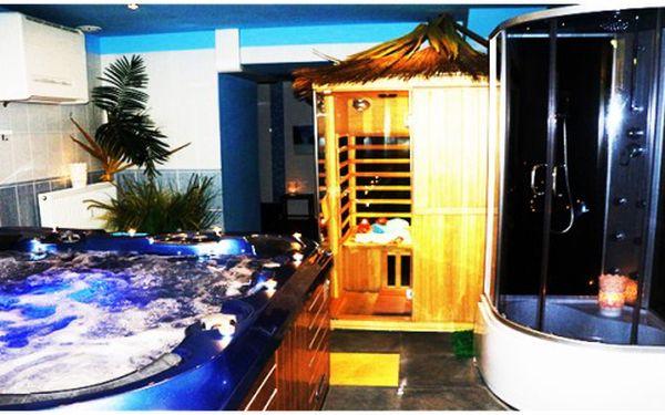 Pronajem vířivky s infra saunou pro 2 osoby