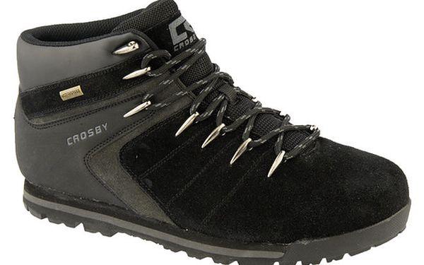 Pánské černé boty s podšívkou z vlny Crosby