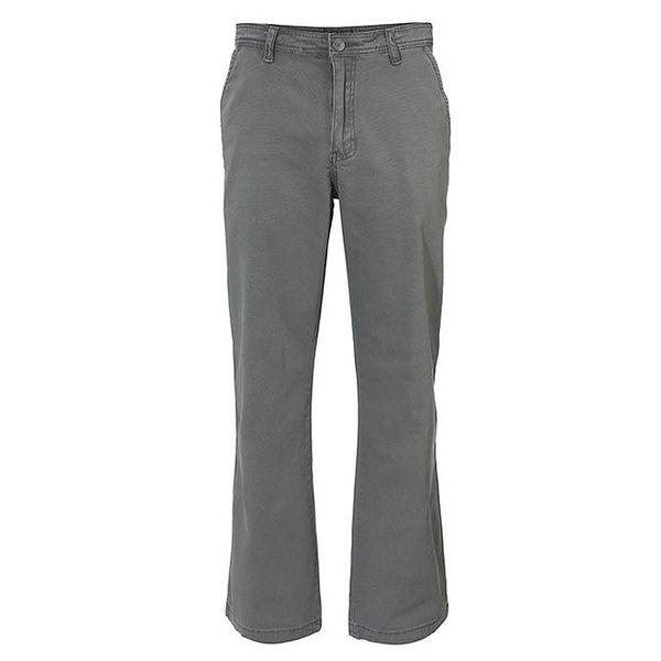 Pánské šedé rovné kalhoty Fundango