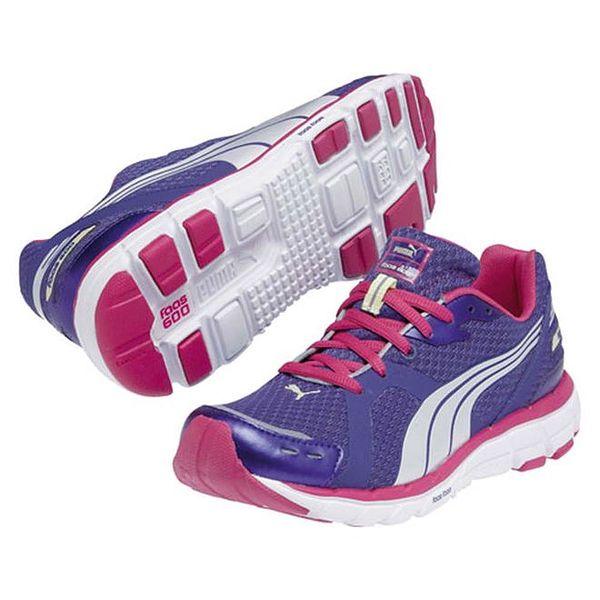 Dámské modrofialové sportovní tenisky Puma