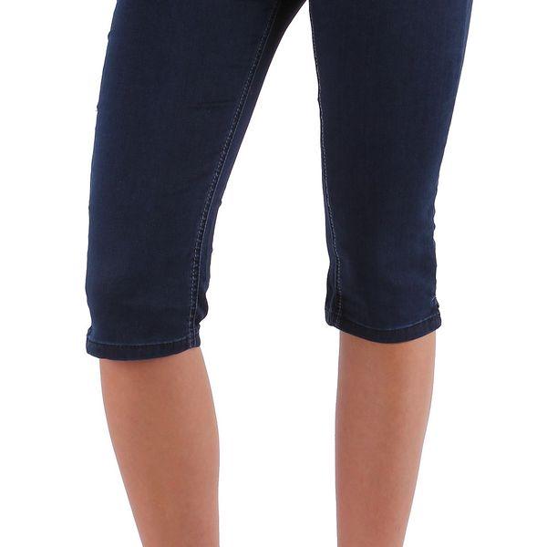 Dámské jeansové capri kalhoty Sublevel