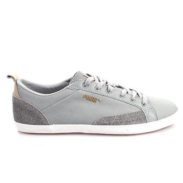 Pánské šedé boty s logem Puma