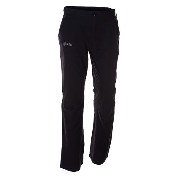 Pánské černé sportovní a outdoorové kalhoty Kilpi