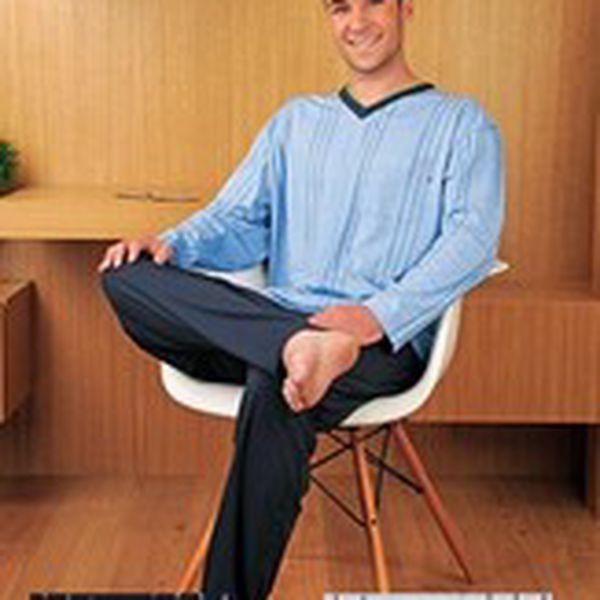 Kvalitní bavlněné pánské pyžamo PS 9140 Andrie