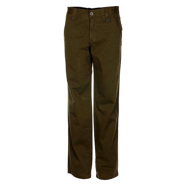 Pánské olivové chino kalhoty Bushman
