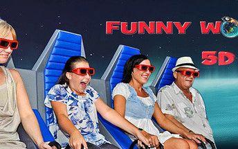 3 vstupenky do 5D kina – zábava a adrenalin