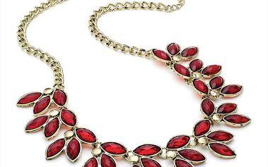 Dámský náhrdelník s červenými kapkami Red Bananas