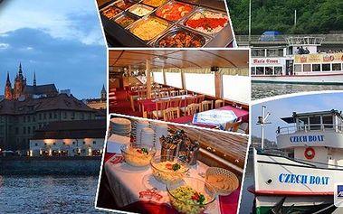 Vyhlídková plavba lodí po Vltavě, 1 - 3 hodiny plavby, na výběr plavba s rautem a živou hudbou. Užijte si romantickou plavbu Prahou s partnerem či rodinou a kochejte se krásou řeky a památkami jako jsou např. Karlův Most, Rudolfinum, Pražský Hrad...