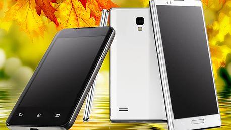 Super výkonný smartphone Elitronics W8 - Android 4.2.2, 2 SIM