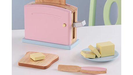 Pastelový toastovací set
