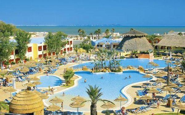 TUNISKO za skvělou LAST MINUTE cenu: 8 dní v hotelu Caribbean World Borj Cedria **** s All Inclusive, nyní za akční cenu 11 690 Kč / dosp. os. na 8 dní. V ceně: zpáteční letenky, ubytování, all inclusive, služby delegáta, veškeré přepravní poplatky a taxy