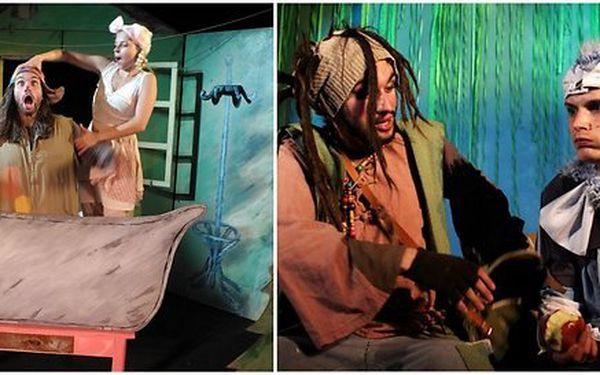 Otevřená vstupenka na dětské představení v Divadle Gong – termíny až do konce roku