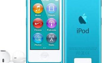 Apple iPod Nano / 16GB (Blue) - 7. generace