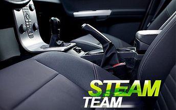 Hloubkové tepování interiéru auta – 60minutový program