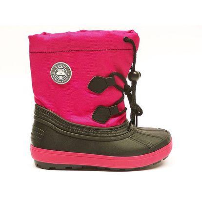 Dětské růžové sněhule Numero Uno