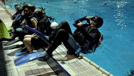 Kurz potápění pro kvalifikaci ponoru do 21 metrů, IANTD licence, 16 hodin výuky