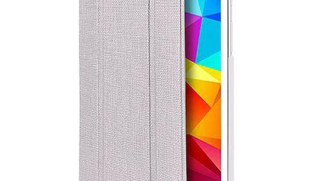 "Puro stojénkové ZETA SLIM ""ICE"" pro Galaxy Tab4 8"" (T330), perleťově bílé (GTAB48ICEPEARL)"