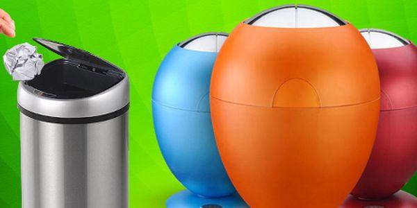 Bezdotykový odpadkový koš: pohodlný, designový a hlavně hygienický!