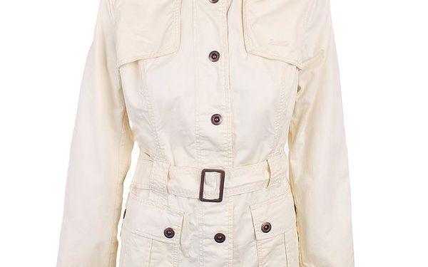 Dámský krémově bílý kabátek Timeout
