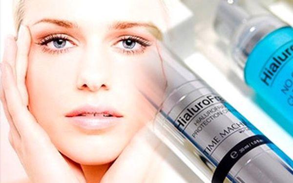 Laserové ošetření obličeje s aplikací 100% kyseliny hyaluronové přístrojem Hialurofrax - Fraxpen.