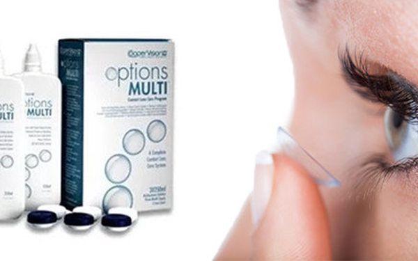 Roztok na kontaktní čočky Options Multi 3x250ml