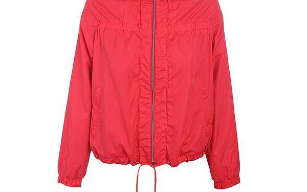 Dámská zářivě červená bunda Timeout