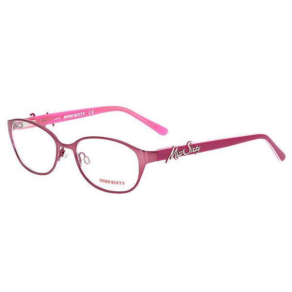 Dámské růžové obroučky Miss Sixty