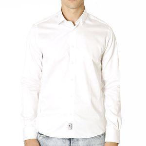 Pánská bílá bavlněná košile Santa Barbara