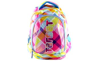 Studentský batoh Target - růžová