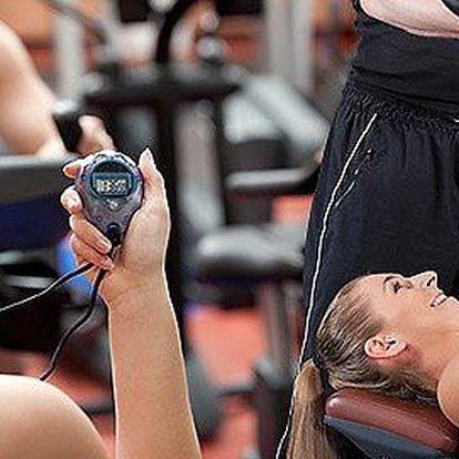 3 fitness tréninky s osobním trenérem v SBCentrum fitness