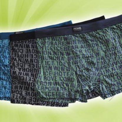 Tři kvalitní pánské boxerky z bambusového vlákna mají skvělé termoregulační vlastnosti, odvádějí vlhkost, jsou maximálně pohodlné a navíc mají antibakteriální vlastnosti!