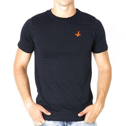 Pánské tmavě modré tričko s krátkým rukávem Santa Barbara