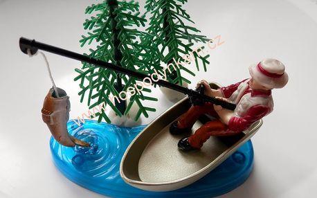 Figurka na dort - rybář