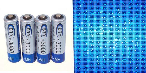 4 ks nabíjecích baterií jen za 199 Kč