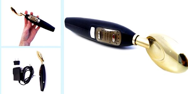 Galvanická žehlička Golden Spoon