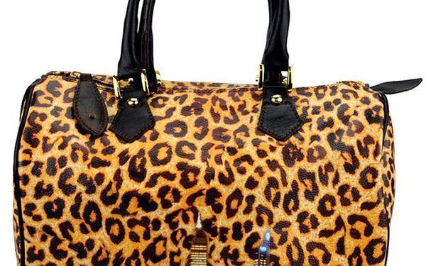 Dámská kabelka s leopardím vzorem Giulia