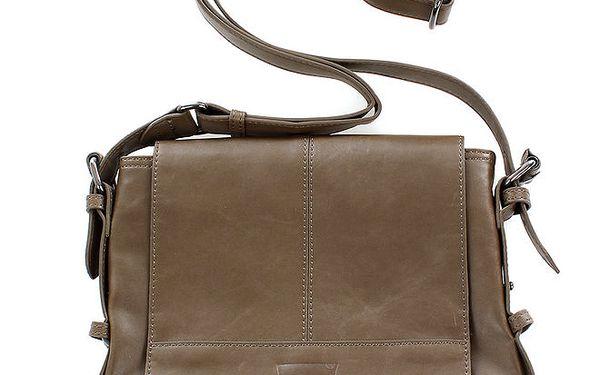 Dámská hnědobéžová kabelka s dlouhým popruhem přes rameno Levi's