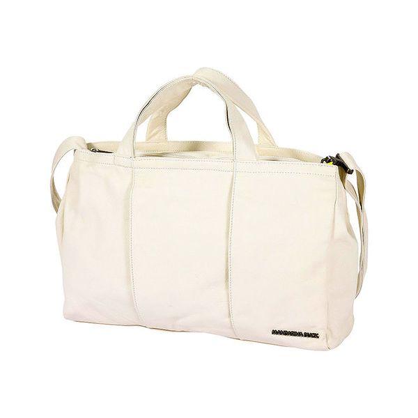 Dámská bílá cestovní taška Mandarina Duck
