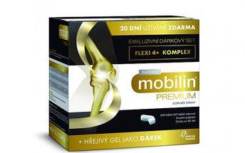 Altermed Mobilin Premium 240 tbl + Hřejivý gel Zdarma