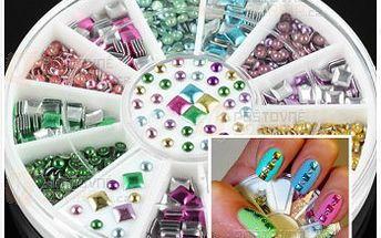 Ozdoby na nehty v různých barvách a poštovné ZDARMA! - 26813312