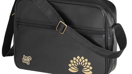 Taška přes rameno be.bag Sports - černá