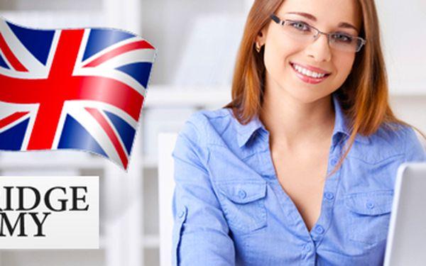 Online kurzy angličtiny v osvědčené Cambridge Academy. 120, 240 nebo 360 hodin.