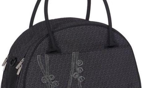 Přebalovací taška Glam Shoulder Bag Solid černá